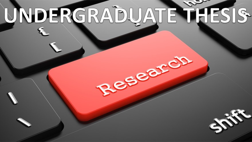 Undergraduate thesis research