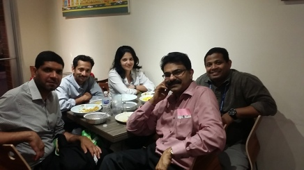 With Drs. Kumar (UCONN), Ranjith (OSU), Poulson (Kalsec), and Deepti (HEB)