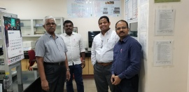 WIth Drs. Naveena, Vaithiyanathan, and Vivek