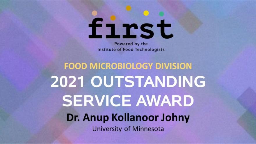 Anup Award IFT FMD